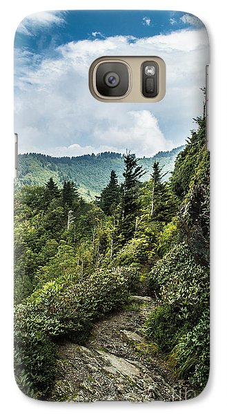 Galaxy Case featuring the photograph Charlies Bunion Trail by Debbie Green