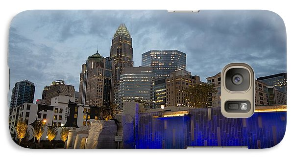 Galaxy Case featuring the photograph Charlotte City Lights by Serge Skiba