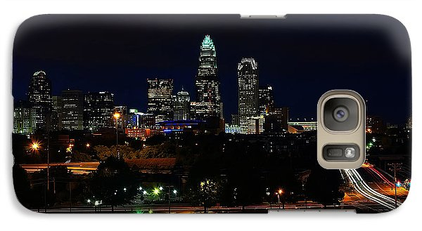 Charlotte Nc At Night Galaxy S7 Case