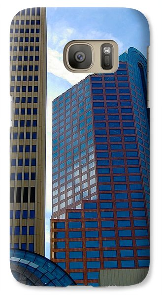 Galaxy Case featuring the photograph Charlotte North Carolina by Bob Pardue