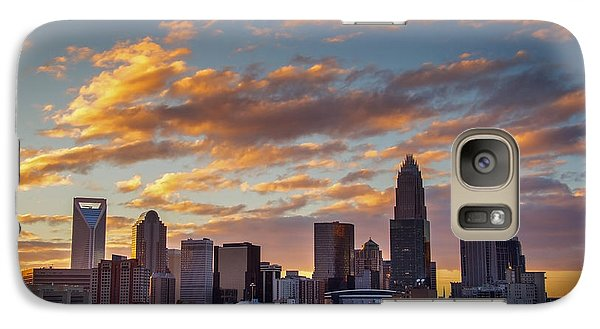 Galaxy Case featuring the photograph Charlotte Sunset by Serge Skiba