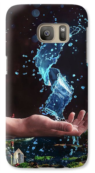 Wizard Galaxy S7 Case - Charm Of Clear Water by Dina Belenko