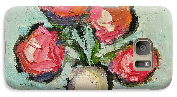 Galaxy Case featuring the painting Charming Still Life by Becky Kim
