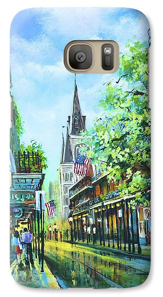 Galaxy Case featuring the painting Chartres Afternoon by Dianne Parks