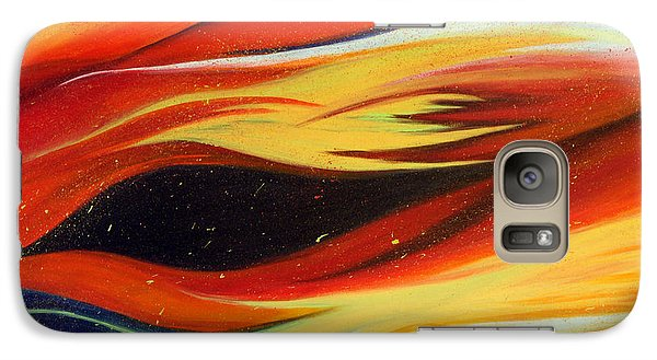 Galaxy Case featuring the painting Charybdis by Michelle Joseph-Long