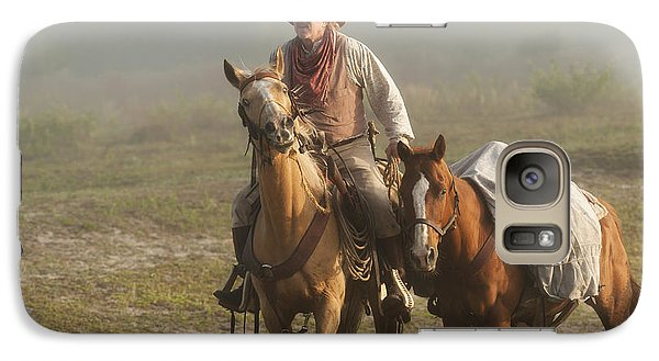 Galaxy Case featuring the photograph Chasing Dreams by Linda Constant