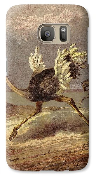 Chasing The Ostrich Galaxy S7 Case by English School