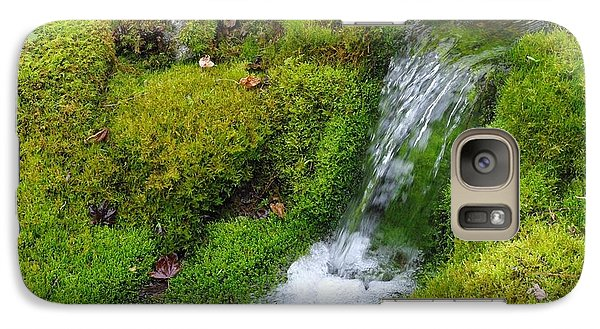 Galaxy Case featuring the photograph Chasing Waterfalls by Marilyn Wilson