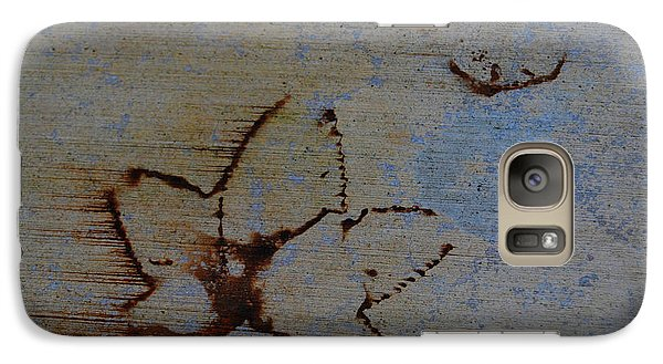 Galaxy Case featuring the photograph Chasing Winter by Jani Freimann