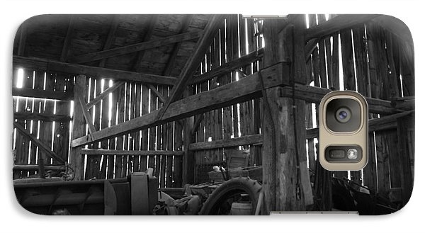 Galaxy Case featuring the photograph Chassell Barn by Jenessa Rahn