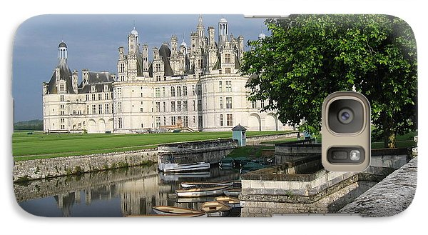 Galaxy Case featuring the photograph Chateau Chambord Boating by HEVi FineArt