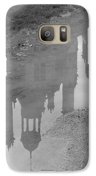 Galaxy Case featuring the photograph Chateau Chambord Reflection by HEVi FineArt