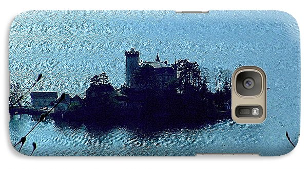 Galaxy S7 Case featuring the photograph Chateau Sur Lac by Marc Philippe Joly