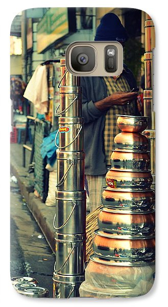 Galaxy Case featuring the photograph Check This Out by Rima Biswas