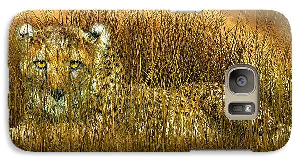 Cheetah - In The Wild Grass Galaxy S7 Case