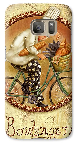 Chefs On Bikes-boulangerie Galaxy S7 Case