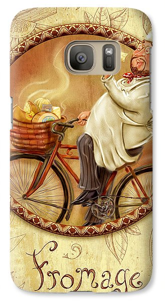 Chefs On Bikes-fromage Galaxy S7 Case