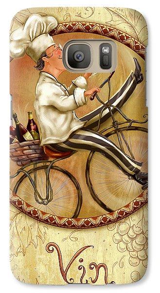 Chefs On Bikes-vin Galaxy S7 Case