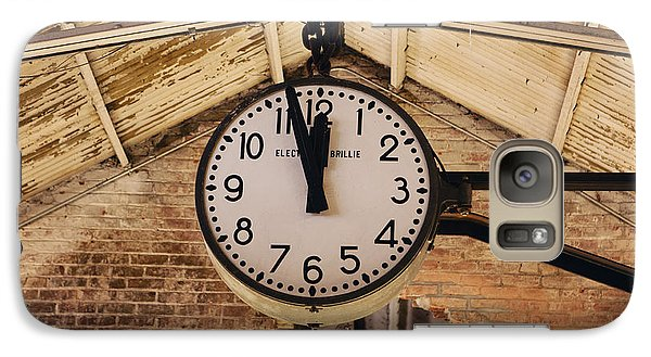 Galaxy Case featuring the photograph Chelsea Market Clock by Kim Fearheiley
