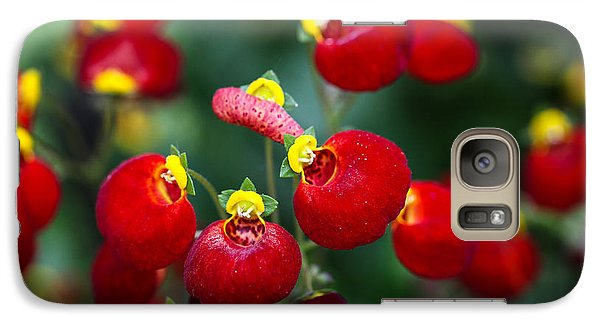 Galaxy Case featuring the photograph Chelsea Red by Ross Henton