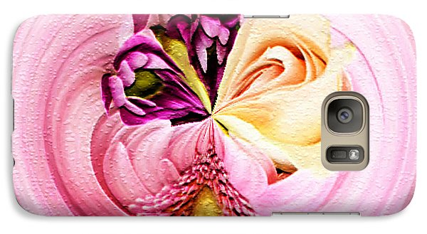 Galaxy Case featuring the photograph Cherished Bouquet by Paula Ayers