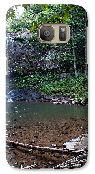 Galaxy Case featuring the photograph Cherokee Falls by Rebecca Hiatt