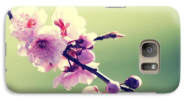 Galaxy Case featuring the photograph Cherry Blooms by Yulia Kazansky