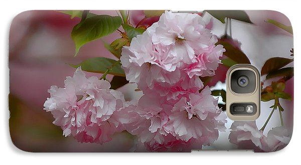 Galaxy Case featuring the photograph Cherry Blossom by Sami Martin
