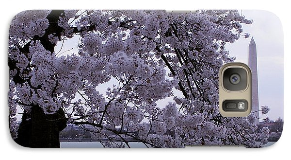 Galaxy Case featuring the photograph Cherry Blossom Special by Myrna Bradshaw