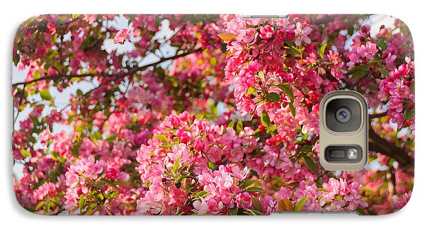 Galaxy Case featuring the photograph Cherry Blossoms In Washington D.c. by Mitchell R Grosky