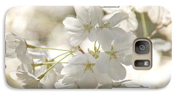 Cherry Blossoms Galaxy S7 Case by Peggy Hughes