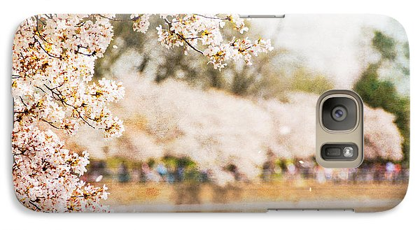 Galaxy Case featuring the photograph Cherry Blossoms In Washington Dc by Vizual Studio