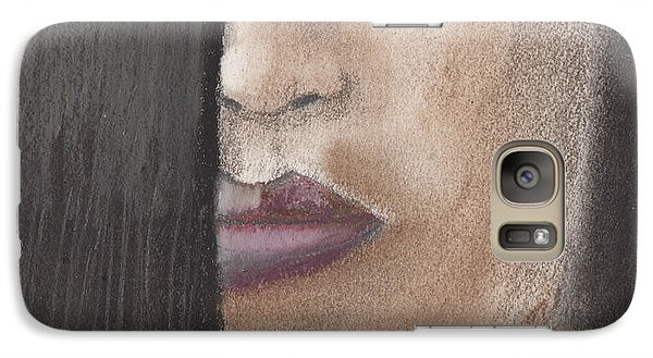 Galaxy Case featuring the pastel Cherry by David Jackson