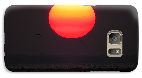 Galaxy Case featuring the photograph Cherry Drop Sunrise by Dianne Cowen