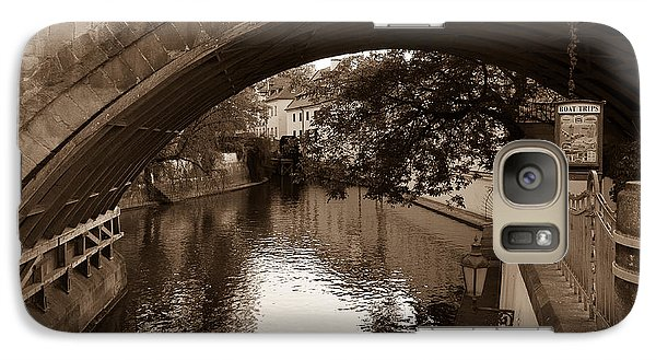 Galaxy Case featuring the photograph Chertovka River by Sergey Simanovsky