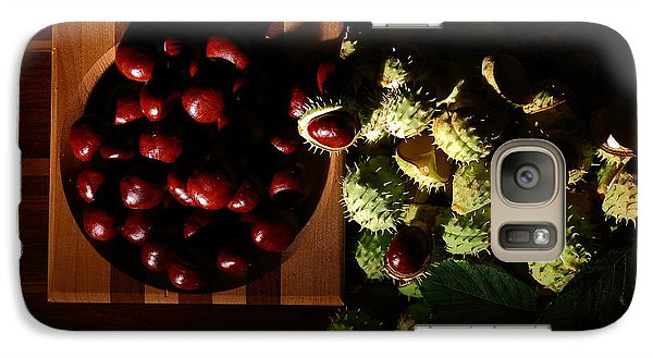 Galaxy Case featuring the photograph Chestnuts by David Andersen