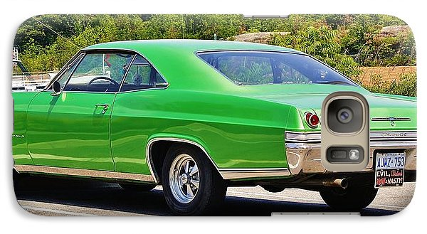 Galaxy Case featuring the photograph Chev Impala by Al Fritz