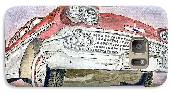 Galaxy Case featuring the painting Chevrolet II by Eva Ason