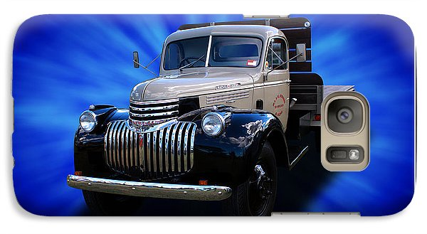 Galaxy Case featuring the photograph Chevrolet Maple Leaf Truck by Keith Hawley