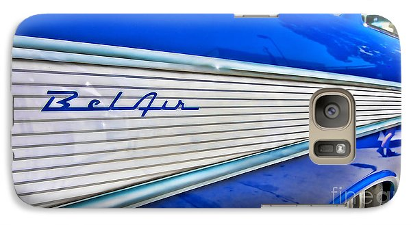 Galaxy Case featuring the photograph Chevy Bel Air by Jason Abando