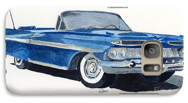 Galaxy Case featuring the painting Chevy Impala by Eva Ason