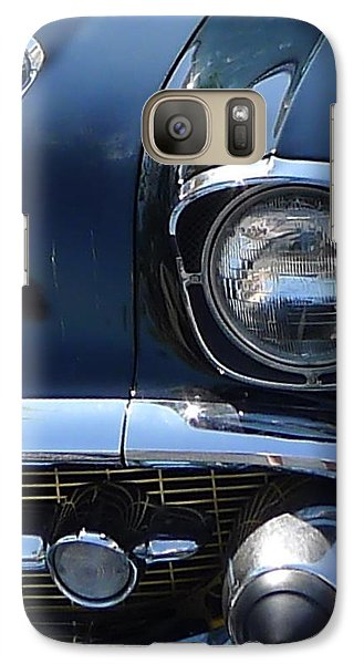 Galaxy Case featuring the photograph Chevy In Black by Richard Reeve