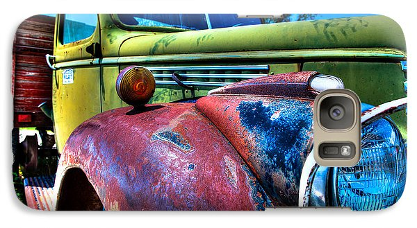 Galaxy Case featuring the photograph Chevy Oldie by Allen Biedrzycki