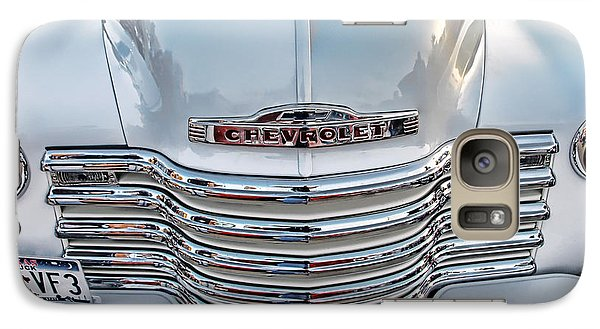 Galaxy Case featuring the photograph Chevy Pickup Classic by Dyle   Warren