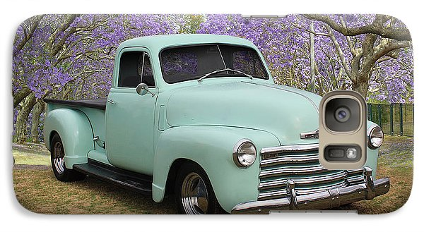 Galaxy Case featuring the photograph Chevy Pickup by Keith Hawley