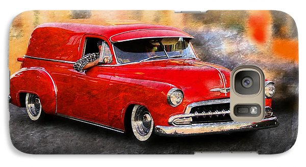 Vehicle Galaxy Case featuring the photograph Chevy Street Rod by Aaron Berg