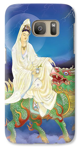 Galaxy Case featuring the photograph Chi Lin Kuan Yin by Lanjee Chee