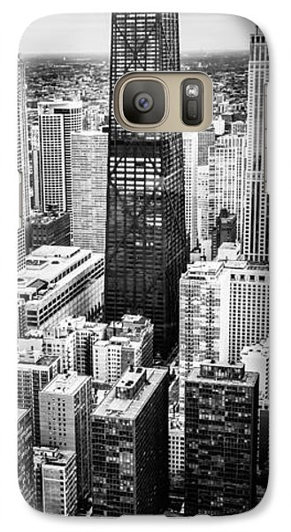 Chicago Aerial Vertical Panoramic Picture Galaxy S7 Case