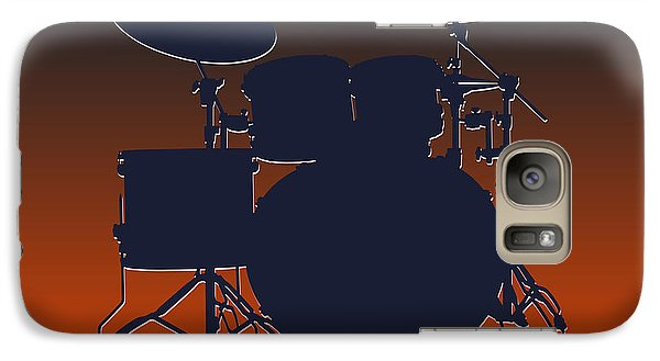 Chicago Bears Drum Set Galaxy S7 Case by Joe Hamilton