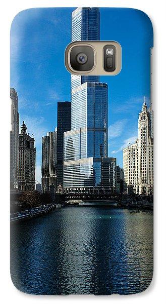 Galaxy Case featuring the photograph Chicago Blues by Georgia Mizuleva